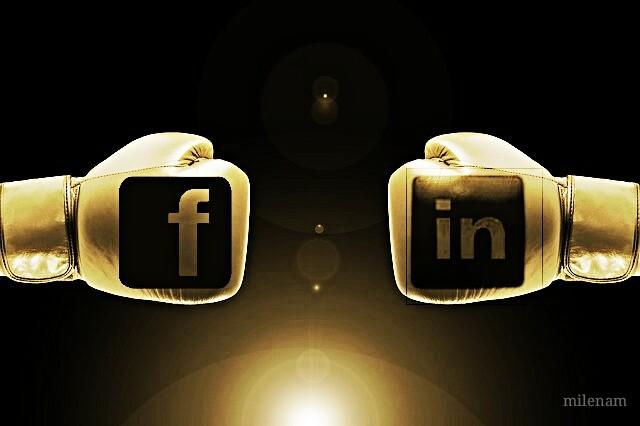 confronto facebook linkedin