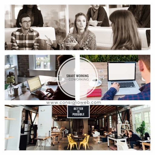 smart working - telelavoro - coworking - lavoro agile