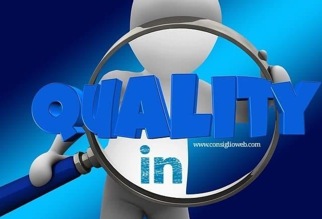 Linkedin lavoro come cercare lavoro - headline linkedin