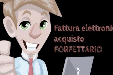 Fattura elettronica acquisto regime forfettario - fattura passiva cassetto fiscale